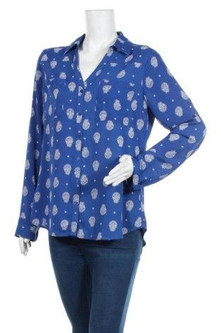 Дамска риза Express, Размер L, Цвят Син, Полиестер, Цена 14,96лв.