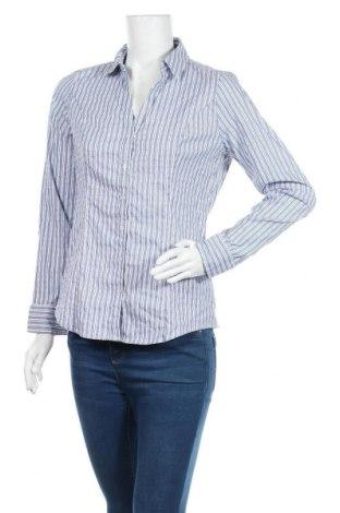 Дамска риза Express, Размер M, Цвят Син, 78% памук, 19% полиамид, 3% еластан, Цена 11,97лв.