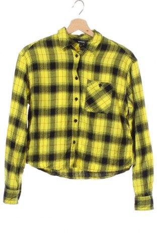 Дамска риза Express, Размер XS, Цвят Жълт, 60% памук, 40% вискоза, Цена 12,29лв.