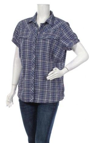 Дамска риза Vaude, Размер XXL, Цвят Син, 66% полиамид, 34% полиестер, Цена 8,40лв.