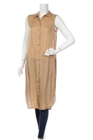 Cămașă de femei Vero Moda, Mărime M, Culoare Bej, 100% viscoză, Preț 52,63 Lei