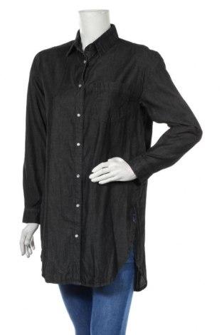 Дамска риза Vrs Woman, Размер S, Цвят Сив, Памук, Цена 11,97лв.
