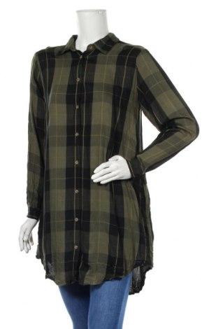 Дамска риза Vrs Woman, Размер M, Цвят Зелен, Вискоза, Цена 21,00лв.