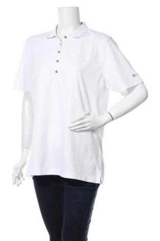 Tricou de femei Backtee, Mărime 3XL, Culoare Alb, Poliester, Preț 22,96 Lei