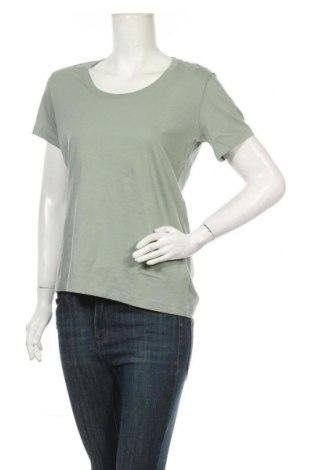 Дамска тениска Diesel, Размер S, Цвят Зелен, Памук, Цена 66,75лв.