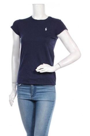 Дамска тениска Polo By Ralph Lauren, Размер S, Цвят Син, Цена 33,75лв.