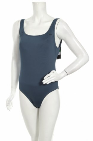 Dámské plavky  Nike, Velikost L, Barva Modrá, 83% polyester, 17% elastan, Cena  968,00Kč