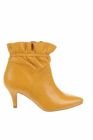 Дамски боти Re:designed, Размер 37, Цвят Жълт, Естествена кожа, Цена 80,70лв.