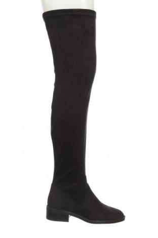 Дамски ботуши Aldo, Размер 35, Цвят Черен, Текстил, Цена 45,54лв.