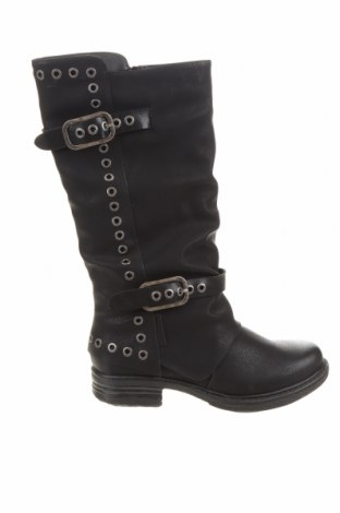 Дамски ботуши Coolway, Размер 37, Цвят Черен, Еко кожа, Цена 56,64лв.