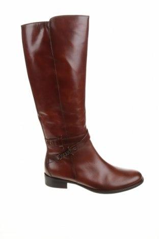 Γυναικείες μπότες Gabor, Μέγεθος 40, Χρώμα Καφέ, Γνήσιο δέρμα, Τιμή 73,07€