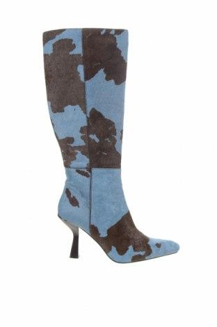 Dámské boty  Jeffrey Campbell, Velikost 40, Barva Modrá, Pravá kožešina , Cena  3581,00Kč