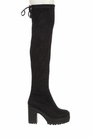 Дамски ботуши Koi footwear, Размер 40, Цвят Черен, Текстил, Цена 49,50лв.