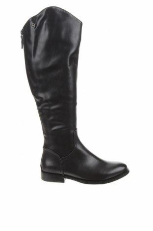 Дамски ботуши Laura Biagiotti, Размер 38, Цвят Черен, Еко кожа, Цена 131,97лв.