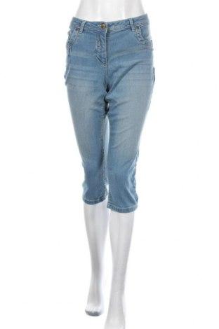 Дамски дънки Aniston, Размер L, Цвят Син, 75% памук, 23% полиестер, 2% еластан, Цена 23,02лв.