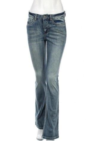 Дамски дънки Arizona, Размер S, Цвят Син, 69% памук, 29% полиестер, 2% еластан, Цена 46,50лв.