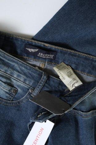 Дамски дънки Arizona, Размер M, Цвят Син, 79% памук, 19% полиестер, 2% еластан, Цена 24,90лв.