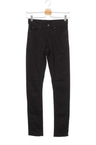 Дамски дънки Cheap Monday, Размер XS, Цвят Черен, 99% памук, 1% еластан, Цена 13,06лв.