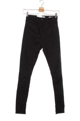 Дамски дънки Costes, Размер XS, Цвят Черен, 97% памук, 3% еластан, Цена 44,10лв.
