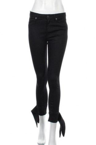 Дамски дънки Dondup, Размер S, Цвят Черен, 69% памук, 29% полиамид, 2% еластан, Цена 39,82лв.