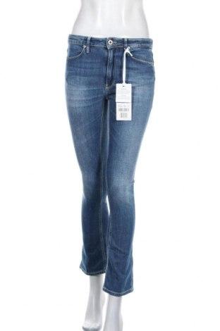 Дамски дънки Dondup, Размер M, Цвят Син, 94% памук, 6% еластан, Цена 201,75лв.