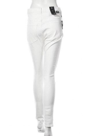 Дамски дънки Dr. Denim, Размер XL, Цвят Бял, 98% памук, 2% еластан, Цена 28,29лв.