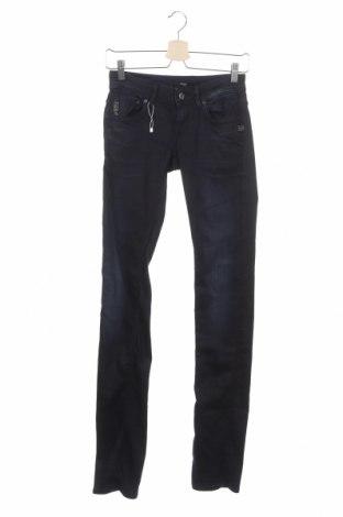 Дамски дънки G-Star Raw, Размер S, Цвят Син, 35% памук, 35% лиосел, 28% полиестер, 2% еластан, Цена 54,00лв.