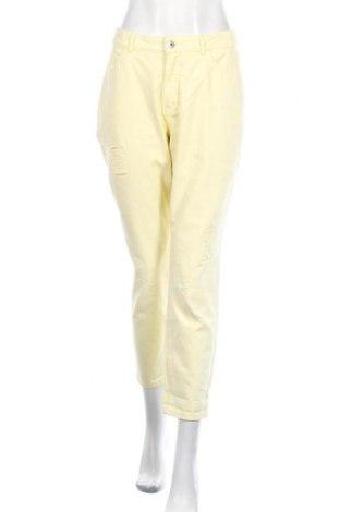 Дамски дънки Jake*s, Размер M, Цвят Жълт, Памук, Цена 24,42лв.