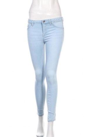Дамски дънки Lefties, Размер S, Цвят Син, 66% памук, 20% полиестер, 11% вискоза, 3% еластан, Цена 31,36лв.
