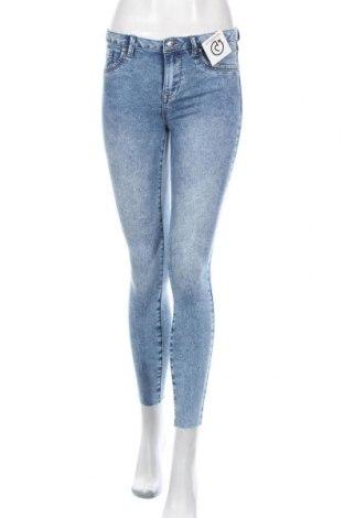 Дамски дънки Lefties, Размер S, Цвят Син, 74% памук, 24% полиестер, 2% еластан, Цена 25,97лв.
