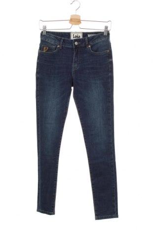 Дамски дънки Lois, Размер M, Цвят Син, 8% памук, 2% еластан, Цена 36,49лв.