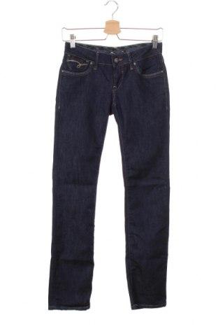 Дамски дънки Mavi, Размер XS, Цвят Син, 74% памук, 26% еластан, Цена 13,76лв.