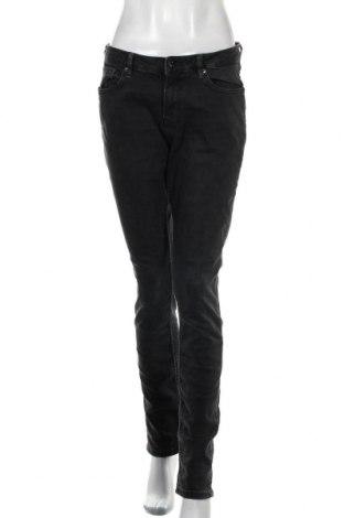 Дамски дънки Q/S by S.Oliver, Размер M, Цвят Сив, 83% памук, 15% полиестер, 2% еластан, Цена 40,50лв.