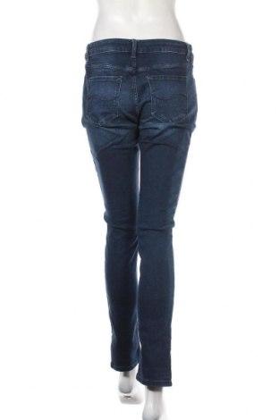 Дамски дънки Q/S by S.Oliver, Размер M, Цвят Син, 99% памук, 1% еластан, Цена 18,24лв.