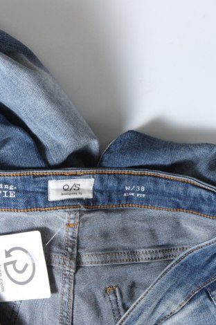 Дамски дънки Q/S by S.Oliver, Размер M, Цвят Син, 99% памук, 1% еластан, Цена 24,42лв.