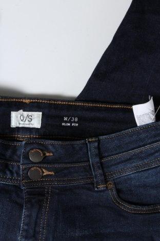 Дамски дънки Q/S by S.Oliver, Размер M, Цвят Син, 99% памук, 1% еластан, Цена 12,85лв.