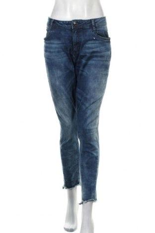 Blugi de femei S.Oliver, Mărime XL, Culoare Albastru, 88% bumbac, 9% poliester, 3% elastan, Preț 94,74 Lei