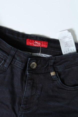 Дамски дънки S.Oliver, Размер XS, Цвят Син, 88% памук, 9% полиестер, 3% еластан, Цена 19,32лв.