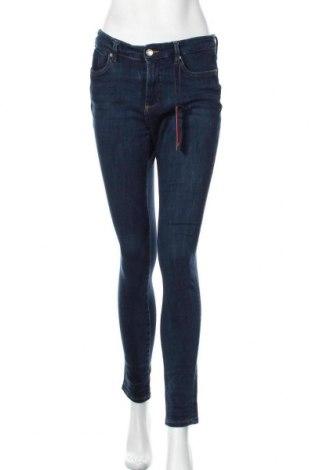Дамски дънки S.Oliver, Размер S, Цвят Син, 47% памук, 37% лиосел, 13% полиестер, 3% еластан, Цена 29,37лв.