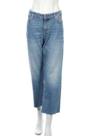 Дамски дънки S.Oliver, Размер L, Цвят Син, 99% памук, 1% еластан, Цена 66,75лв.