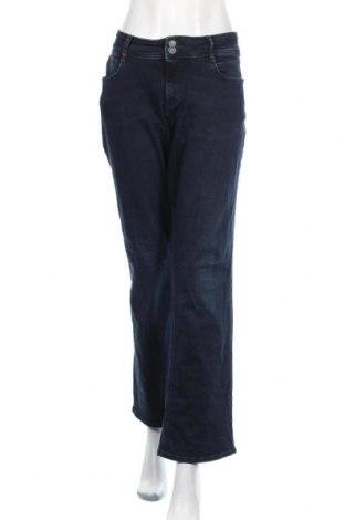 Дамски дънки S.Oliver, Размер XXL, Цвят Син, 94% памук, 4% полиестер, 2% еластан, Цена 31,02лв.
