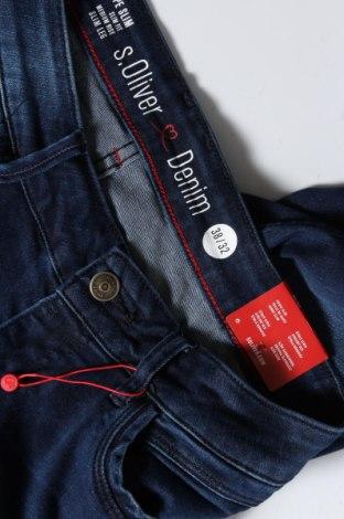 Дамски дънки S.Oliver, Размер M, Цвят Син, 91% памук, 7% полиестер, 2% еластан, Цена 66,75лв.