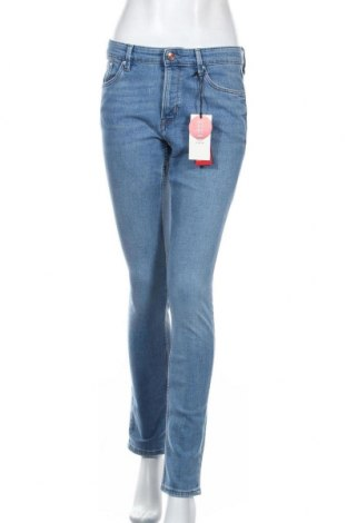 Дамски дънки S.Oliver, Размер S, Цвят Син, 85% памук, 14% полиестер, 1% еластан, Цена 59,25лв.