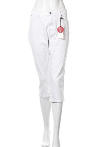 Dámské džíny  S.Oliver, Velikost XL, Barva Bílá, 50% bavlna, 40% viskóza, 8% polyester, Cena  258,00Kč