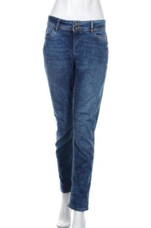 Дамски дънки S.Oliver, Размер XL, Цвят Син, 98% памук, 2% еластан, Цена 63,00лв.