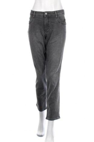 Дамски дънки S.Oliver, Размер XL, Цвят Сив, 99% памук, 1% еластан, Цена 69,00лв.
