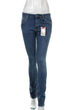 Дамски дънки S.Oliver, Размер S, Цвят Син, 98% памук, 2% еластан, Цена 32,34лв.