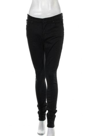 Дамски дънки S.Oliver, Размер M, Цвят Черен, 57% памук, 33% модал, 8% полиестер, 2% еластан, Цена 63,00лв.