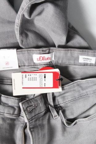Дамски дънки S.Oliver, Размер M, Цвят Сив, 92% памук, 8% еластан, Цена 29,37лв.