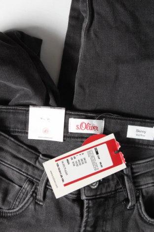 Дамски дънки S.Oliver, Размер S, Цвят Сив, 92% памук, 6% други материали, 2% еластан, Цена 64,50лв.